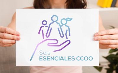 Participa en la campaña #soisesencialesccoo